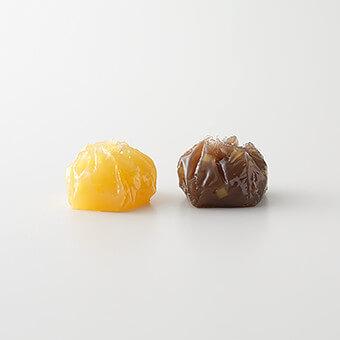 季節の味くらべ 秋 栗ういろう 芋ういろう