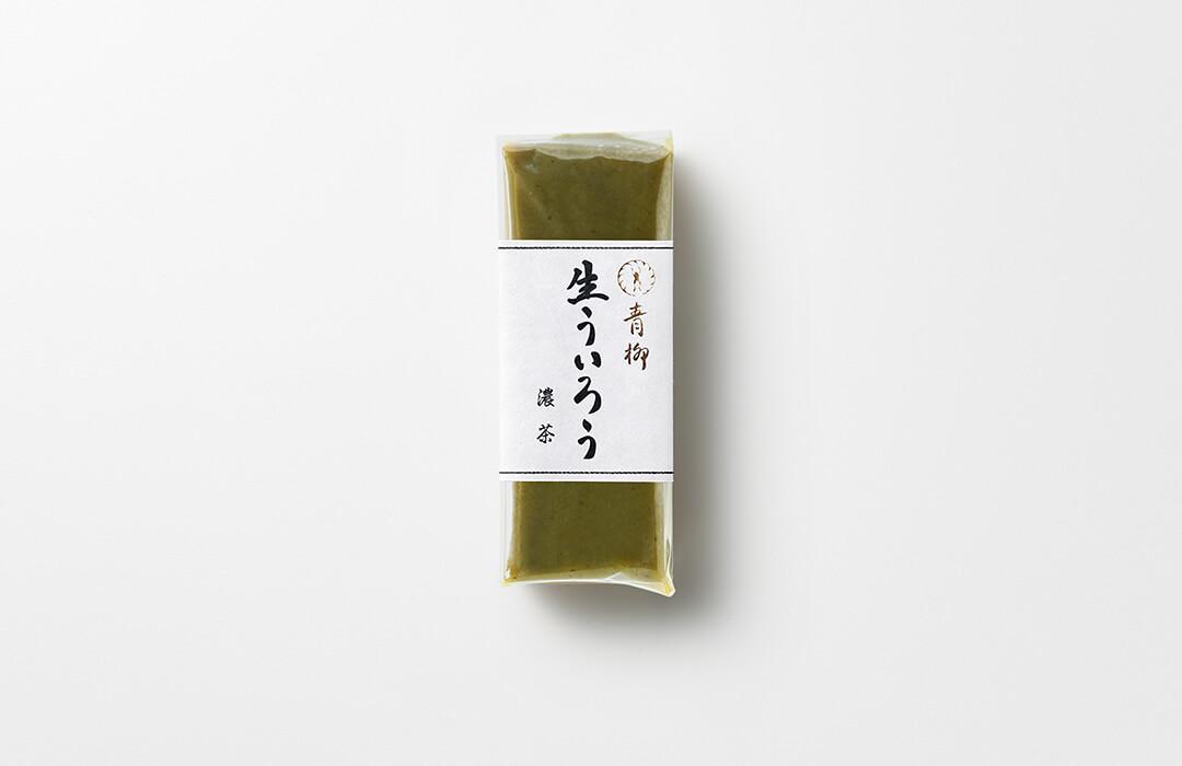 青柳 季節の生ういろう 濃茶
