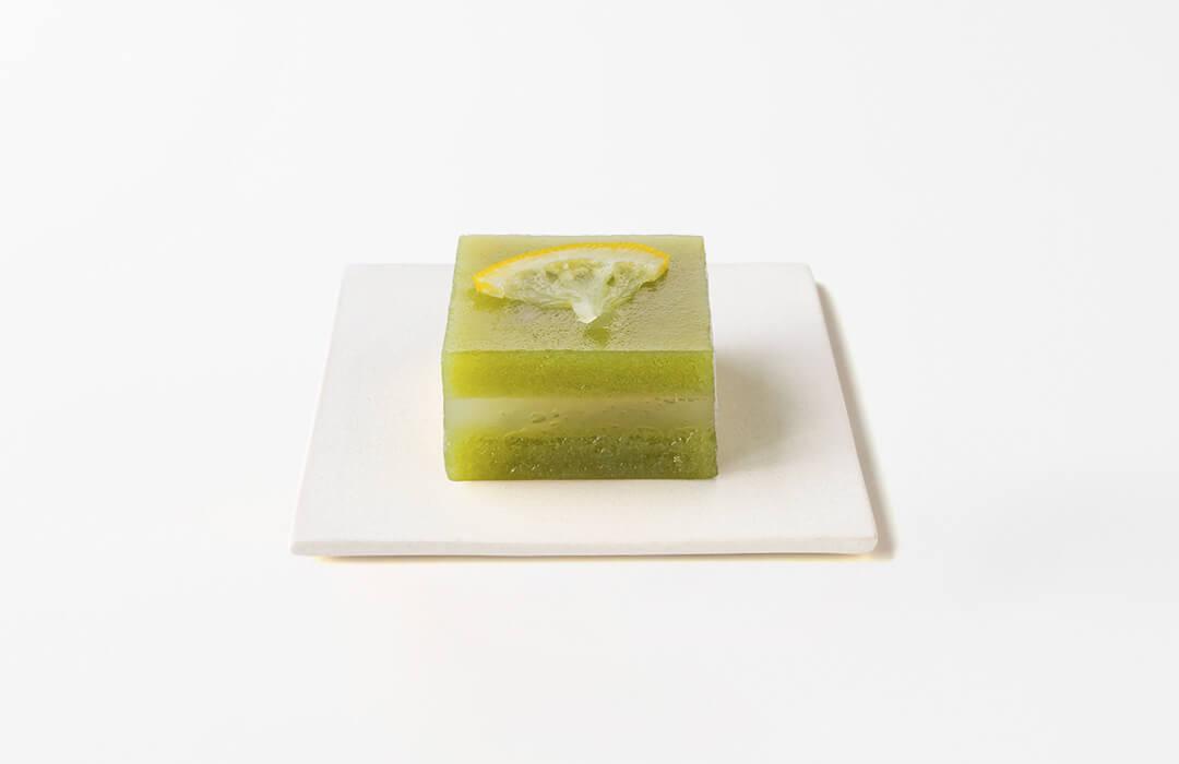 ひとくち生ういろう くず製檸檬緑茶