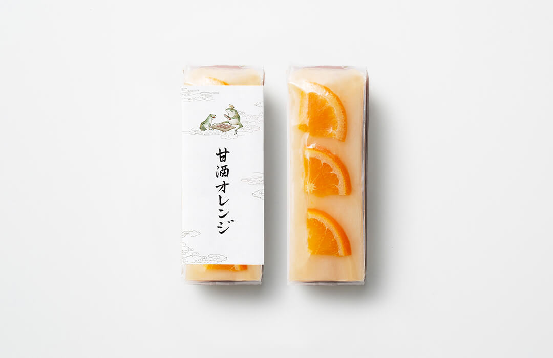 生ういろう 甘酒オレンジ
